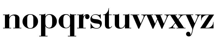 Bodoni-Bold Font LOWERCASE