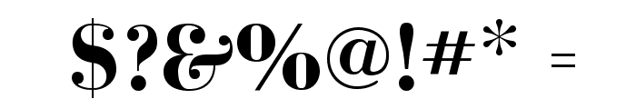 BodoniFLF-Bold Font OTHER CHARS