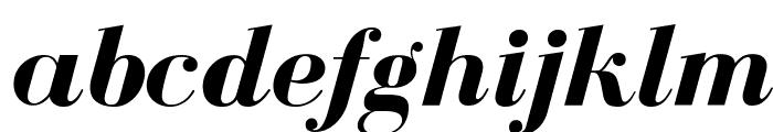 BodoniFLF-BoldItalic Font LOWERCASE
