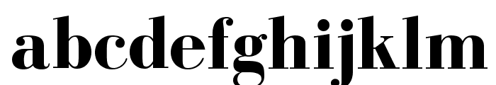 BodoniFLF-Bold Font LOWERCASE