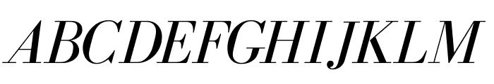 BodoniFLF-Italic Font UPPERCASE