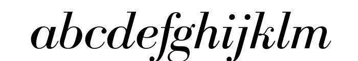 BodoniFLF-Italic Font LOWERCASE