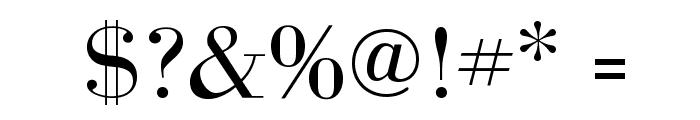 BodoniFLF-Roman Font OTHER CHARS
