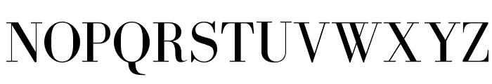 BodoniFLF-Roman Font UPPERCASE