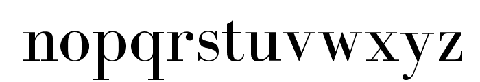 BodoniFLF-Roman Font LOWERCASE