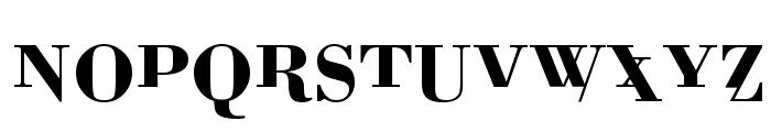 BodoniMutant Font UPPERCASE