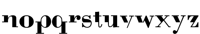 BodoniMutant Font LOWERCASE