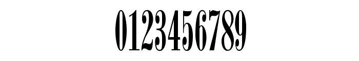 BodoniOpti-SemiCompressed Font OTHER CHARS