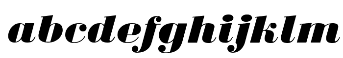 BodoniUltraFLF-Italic Font LOWERCASE