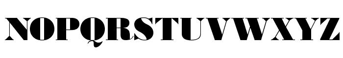 BodoniUltraFLF Font UPPERCASE