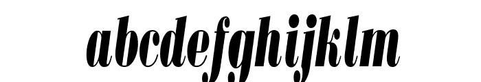 BodoniUltraFLFCond-Italic Font LOWERCASE