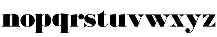 BodoniUltraFLF Font LOWERCASE