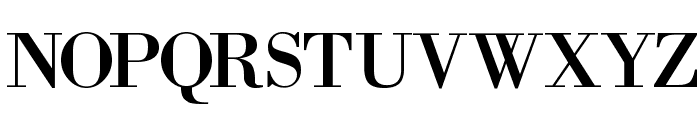 BodoniXT Font UPPERCASE