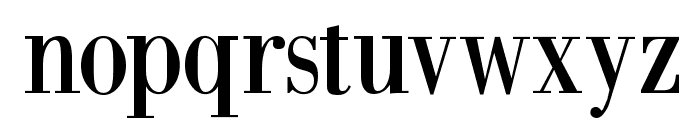 BodoniXT Font LOWERCASE