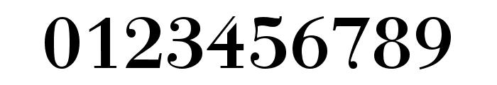Bodonio Regular Font OTHER CHARS