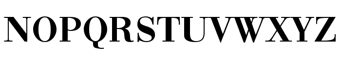 Bodonio Regular Font UPPERCASE
