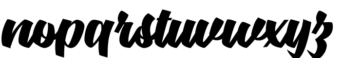 Body&Soul personal Use  Font LOWERCASE