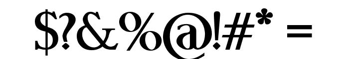 Boebloe Bold Font OTHER CHARS