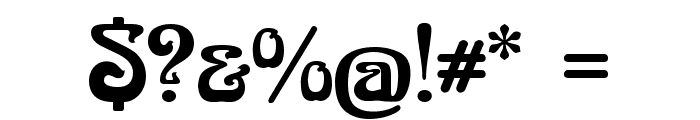 BoecklinsUniverse Font OTHER CHARS