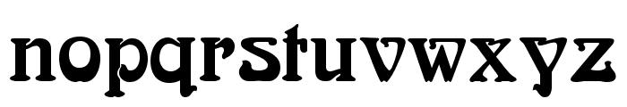 BoecklinsUniverse Font LOWERCASE