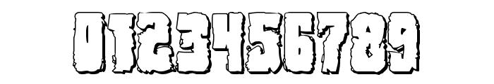 Bog Beast 3D Font OTHER CHARS