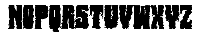Bog Beast Regular Font LOWERCASE