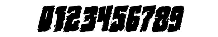 Bog Beast Rotatalic Font OTHER CHARS