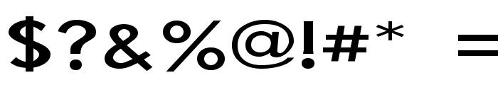 Bog Standard Font OTHER CHARS