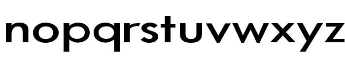 Bog Standard Font LOWERCASE