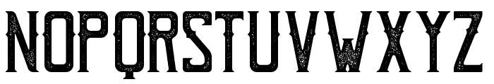 BohemPress Font LOWERCASE