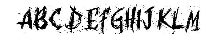 Bohemia Font UPPERCASE