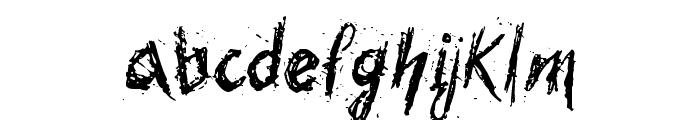 Bohemia Font LOWERCASE