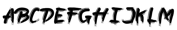 Boil Font UPPERCASE