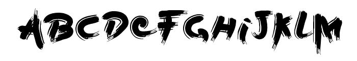 Boil Font LOWERCASE