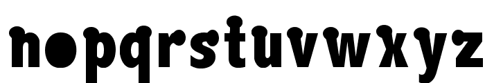 Boink Font LOWERCASE