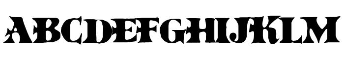 BoinkoMatic Font UPPERCASE