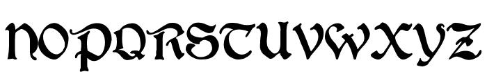 BoisterBlack Font UPPERCASE