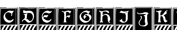 BoisterCapitals Font UPPERCASE