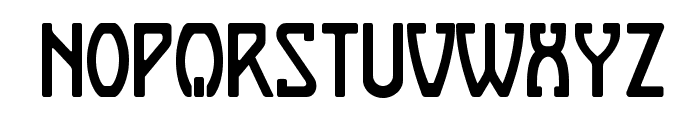 Boizenburg Regular Font UPPERCASE