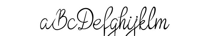 Bokretan Demo Font UPPERCASE