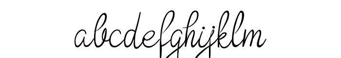 Bokretan Demo Font LOWERCASE