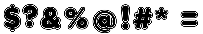 Bola Ocho FFP Font OTHER CHARS