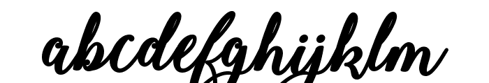 Bold & Stylish Calligraphy Font LOWERCASE