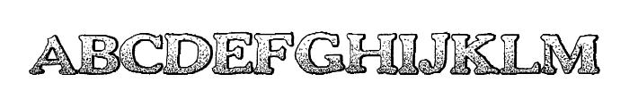 BoldDrink Font UPPERCASE