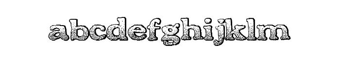 BoldDrink Font LOWERCASE