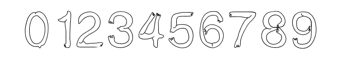 BoldStar Font OTHER CHARS