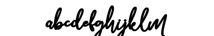 Bolder Line Font LOWERCASE