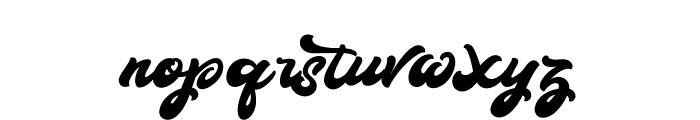 BoldieScript Font LOWERCASE