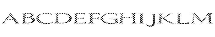 Boldly Go Font UPPERCASE