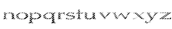 Boldly Go Font LOWERCASE
